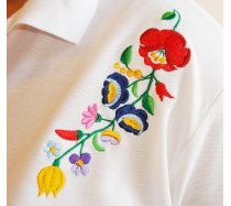 Kalocsai hímzés pólóra